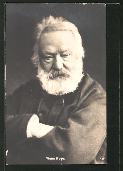 AK Victor Hugo, Portrait in hohem Alter