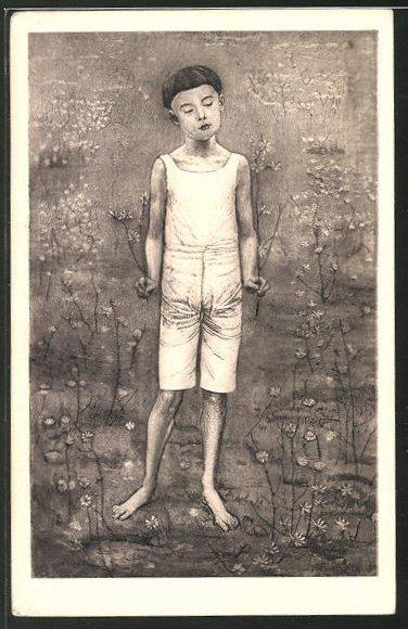 Künstler-AK Ferdinand Hodler: