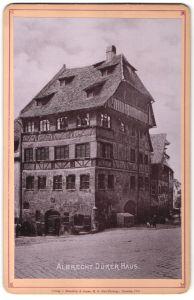 Fotografie Römmler & Jonas, Dresden, Ansicht Nürnberg, Albrecht Dürer Haus