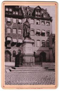 Fotografie Römmler & Jonas, Dresden, Ansicht Nürnberg, Albrecht Dürer Standbild