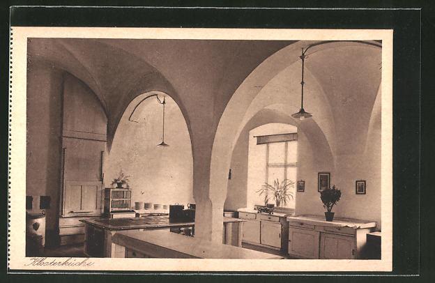 AK Au am Inn, Erziehungsinstitut mit höherer Mädchenschule, Klosterküche