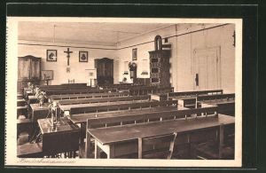 AK Au am Inn, Erziehungsinstitut mit höherer Mädchenschule, Handarbeitszimmer