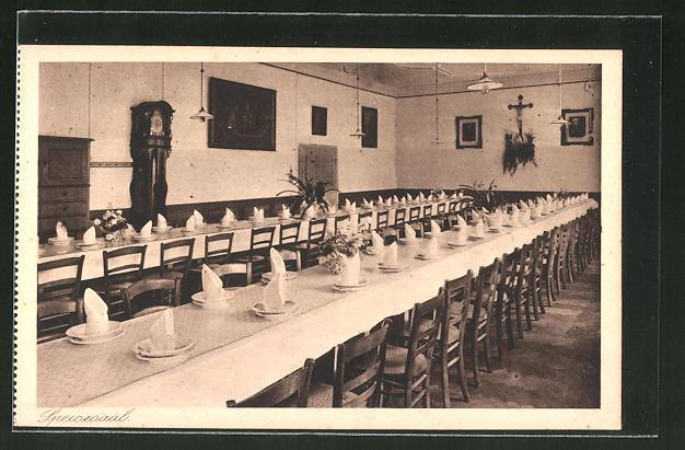 AK Au am Inn, Erziehungsinstitut mit höherer Mädchenschule, Speisesaal