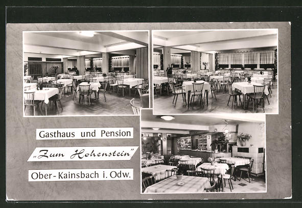 Ober Kainsbach ak ober kainsbach i odw gasthaus und pension zum hohenstein