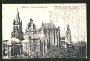 AK Aachen, Sicht auf den Kaiser-Dom