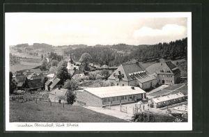 AK Obertrubach / Fränkische Schweiz, Ortspartie am Marienheim