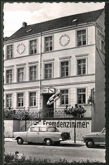 AK Remagen, Pension Prinz, Rheinpromenade 21