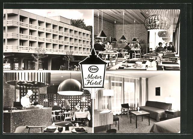 Innenarchitektur Hannover ak hannover kirchrode esso motel am tiergarten innenarchitektur nr