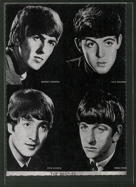 AK The Beatles, George Harrison, Paul McCartney, John Lennon, Ringo Starr