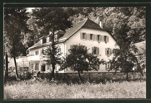 AK Klingenmünster, Gasthof-Ferienheim Klingbachhof