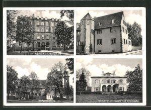 AK Frankfurt-Bockenheim, St. Elisabethenkrankenhaus, Röntgenabteilung