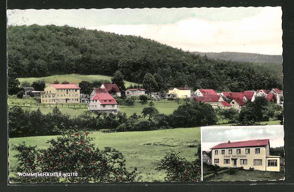 AK Wommelshausen Hütte, Pension Haus Salzbödetal