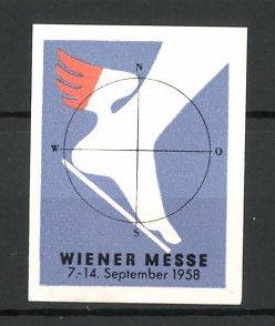Reklamemarke Wien, Wiener Messe 1958, Messelogo