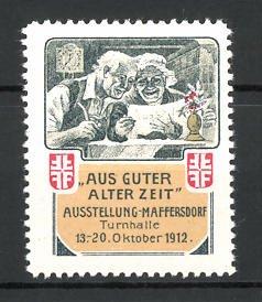 Reklamemarke Maffersdorf, Ausstellung