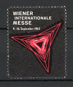Reklamemarke Wien, Wiener internationale Messe 1962, Messelogo