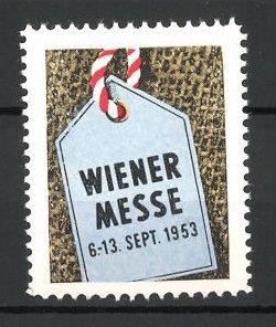 Reklamemarke Wien, Wiener Messe 1953