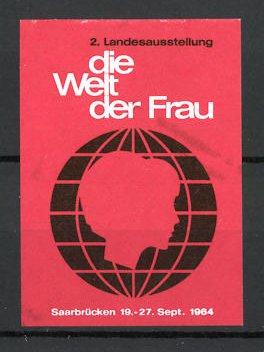 Reklamemarke Saarbrücken, 2. Landesausstellung