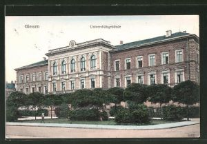 AK Giessen, Teilansicht vom Universitätsgebäude