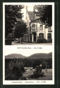 AK Stadtoldendorf, Hotel & Lichtspiele