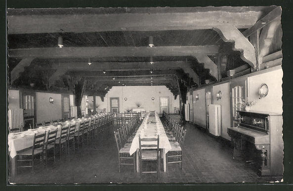 AK Verden / Aller, Speisesaal im ev. Jugendhof Sachsenhain