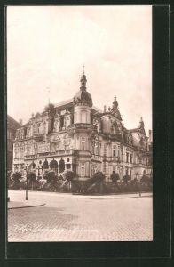 AK Hannover, Blick auf Villa Hindenburg, Wedekindstrasse
