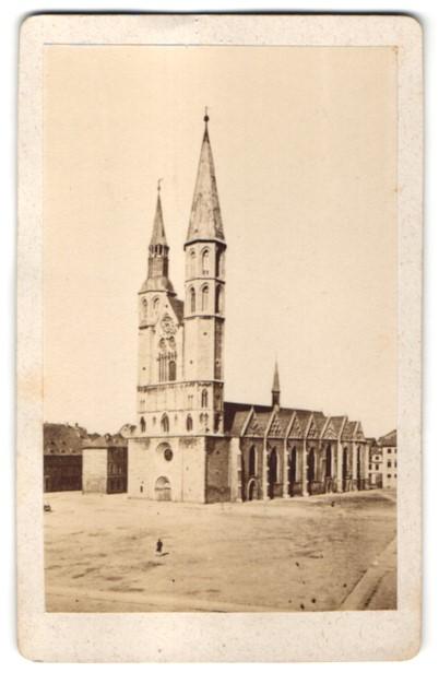 Fotografie C. F. Beddies & Sohn, Braunschweig, Ansicht Braunschweig, Andreaskirche