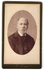 Fotografie H. Lanajou, Bordeaux, Portrait älterer Herr mit Bart