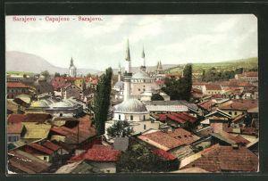 AK Sarajewo, Blick auf den Ort