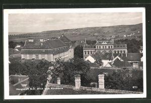 AK Haugsdorf N.Ö., Blick vom Kirchturm