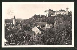 AK Matzen, Ortsansicht mit Schloss