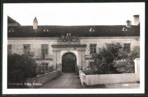 AK Zistersdorf, Eingang zum Schloss