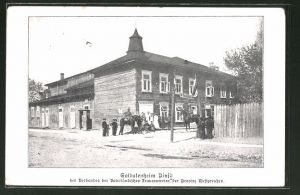 AK Pinsk, Soldatenheim des Verbandes der Vaterländischen Frauenvereine der Provinz Westpreussen
