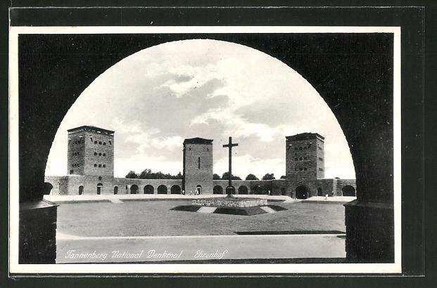 AK Hohenstein, Tannenberg National Denkmal Ehrenhof
