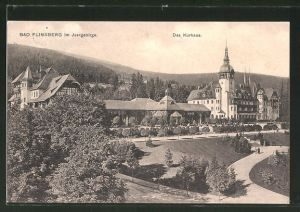 AK Bad Flinsberg, Blick zum Kurhaus