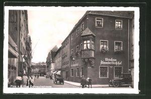 AK Pirna a. d. Elbe, Weinhaus Alexander Gröschel an der Dohnaschestrasse