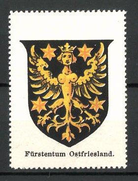 Reklamemarke Wappen vom Fürstentum Ostfriesland