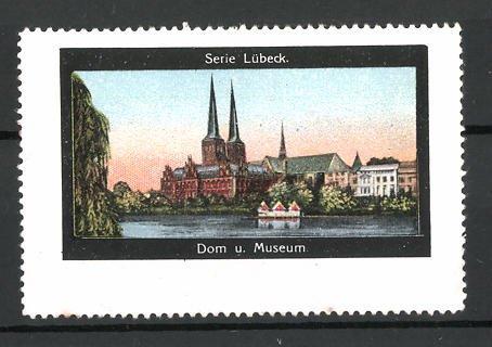 Reklamemarke Serie: Lübeck, Dom und Museum