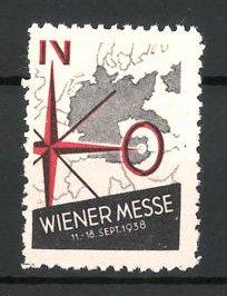 Reklamemarke Wien, Wiener Messe 1938, Messelogo