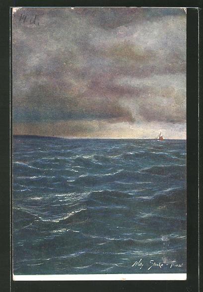 Künstler-AK Willy Straka: