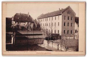 Fotografie Ludwig Schmidt, Friedberg, Ansicht Friedberg i/Hessen, Gebäude im Ort