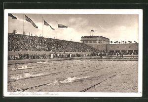 AK Duisburg, Schwimmwettkämpfe im Stadion