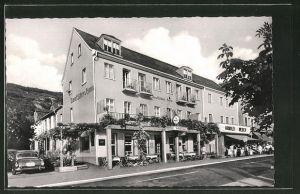AK Kamp / Rh., Hotel Deutsches Haus, Bes. Karl Kimmel