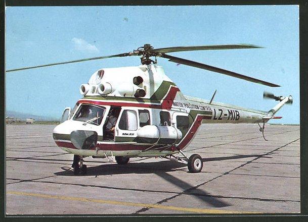 AK Hubschrauber Mu-2 vor dem Start