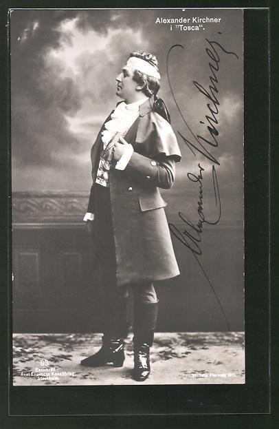 AK Opernsänger Alexander Kirchner in