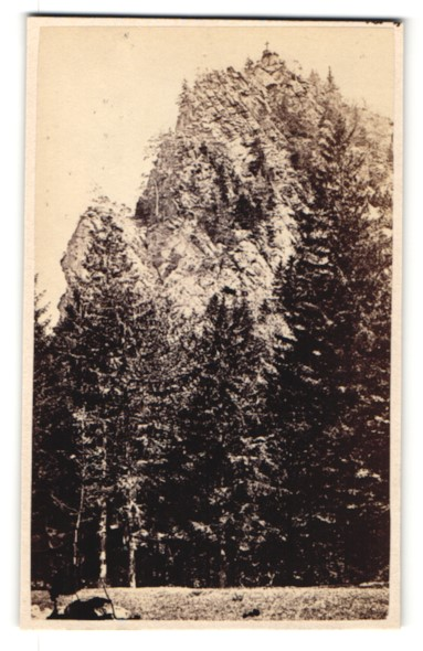 Fotografie unbekannter Fotograf, Ansicht Ilsenstein, Harz
