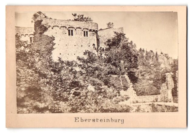 Fotografie unbekannter Fotograf, Ansicht Ebersteinburg