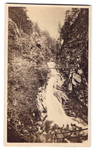 Fotografie unbekannter Fotograf, Ansicht Allerheiligen i. Schwarzwald, Wasserfall
