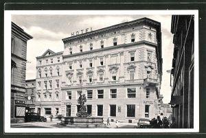 AK Olmütz / Olomouc, Hotel Národni dum