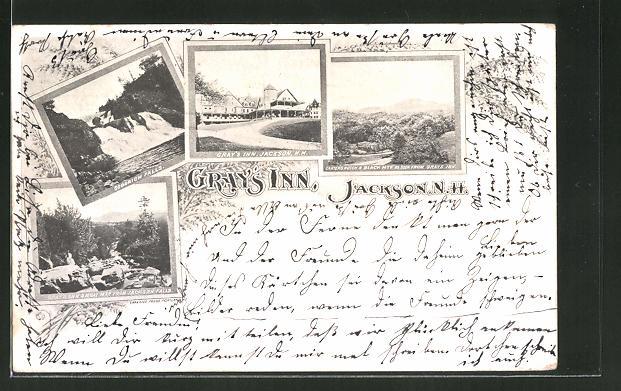 AK Jackson, NH, Gray's Inn, Goodrich Falls
