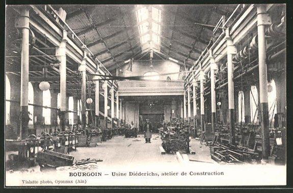 AK Bourgion, Usine Diederichs, atelier de Construction